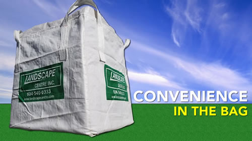 Order Bulk Materials by the Bag
