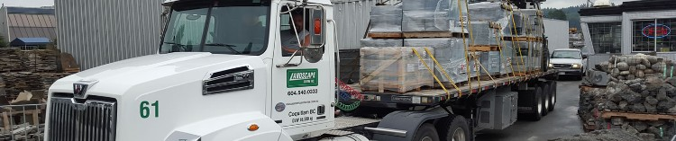 Call 604-540-0333 for your Landscape Centre Delivery